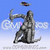 Dark Elves - Occulte Predators Assassin A - Games Miniatures