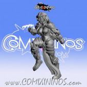 Dark Elves - Occulte Predators Blitzer B - Games Miniatures