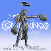 Dark Elves - Occulte Predators Cheerleader A - Games Miniatures