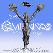 Dark Elves - Occulte Predators Cheerleader B - Games Miniatures