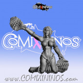 Dark Elves - Occulte Predators Cheerleader C - Games Miniatures