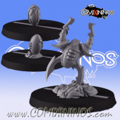 Dark Elves - Set of 3 Occulte Predators Footballs - Games Miniatures
