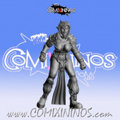 Dark Elves - Occulte Predators Linewoman C - Games Miniatures