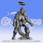 Dark Elves - Occulte Predators Linewoman D - Games Miniatures