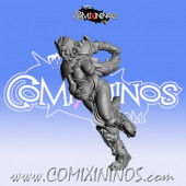 Dark Elves - Occulte Predators Bench Runner A - Games Miniatures