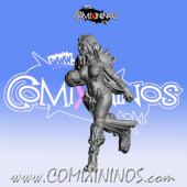 Dark Elves - Occulte Predators Runner C - Games Miniatures