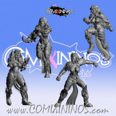 Dark Elves - Set of 4 Occulte Predators Blitzers - Games Miniatures