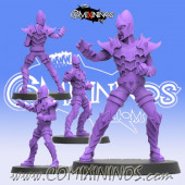 Dark Elves - Dark Elf Lineman nº 3 - SP Miniaturas