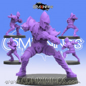 Dark Elves - Dark Elf Lineman nº 5 - SP Miniaturas