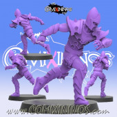 Dark Elves - Dark Elf Lineman nº 6 - SP Miniaturas