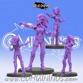 Dark Elves - Dark Elf Witch nº 1 - SP Miniaturas
