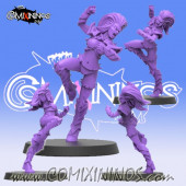 Dark Elves - Dark Elf Witch nº 2 - SP Miniaturas