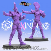 Dark Elves - Dark Eldrid Star Player - SP Miniaturas