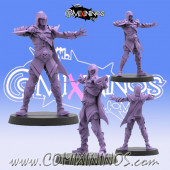 Dark Elves - Enzo Dark Heart Star Player - SP Miniaturas