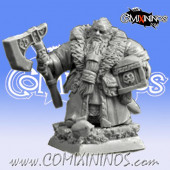 Dwarves - Dwarf Coach Wanderer nº 3 - Scibor Miniatures