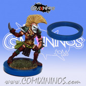 Skill Marker - Blue Rubber Deluxe Ring for 25 mm Bases - Comixininos
