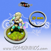 Skill Marker - Grey Rubber Deluxe Ring for 32 mm Bases - Comixininos