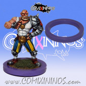 Skill Marker - Purple Rubber Deluxe Ring for 25 mm Bases - Comixininos
