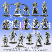 Egyptians - Desert Screamers Base Team of 16 Players - Games Miniatures