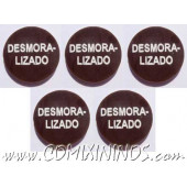 Broken Nerve Tokens (Set of 5) - Spanish