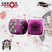 Set of 2d6 Undead Dice - Chaos Factory