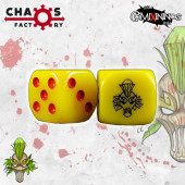 Set of 2d6 Wood Elf Dice - Chaos Factory