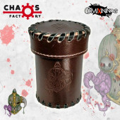 Nurgle Rotten Leather Dice Cup with Lid - Chaos Factory