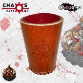 Evil Dwarves Leather Dice Cup - Chaos Factory