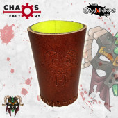 Ratmen Leather Dice Cup - Chaos Factory