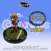 Set of 5 Dirty Player Skill Rings for 32 mm Bases - Comixininos