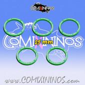 Set of 5 Disturbing Presence Skill Rings for 25 mm Bases - Comixininos