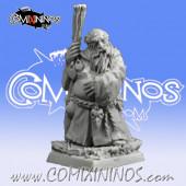 Dwarves - Dwarf Druid - Scibor Miniatures