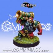 Dwarves - Dwarf Bazooka Star Player - Willy Miniatures