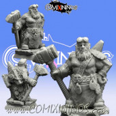 Dwarves - Dwarf Blacksmith nº 2 - Scibor Miniatures
