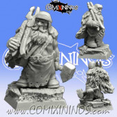 Dwarves - Dwarf Blacksmith nº 3 - Scibor Miniatures