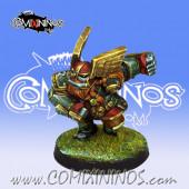 Dwarves - Dwarf Blitzer nº 2 - Willy Miniatures