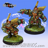 Dwarves - Set of 2 Dwarf Blitzers - Willy Miniatures