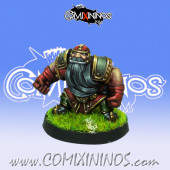 Dwarves - Dwarf Blocker nº 7 - Willy Miniatures