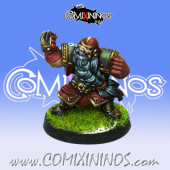 Dwarves - Dwarf Blocker nº 8 - Willy Miniatures
