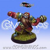 Dwarves - Dwarf Bombardier Star Player - Willy Miniatures
