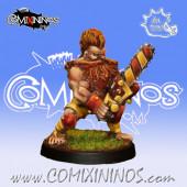 Dwarves - Dwarf Chainsaw Star Player - Iron Golems