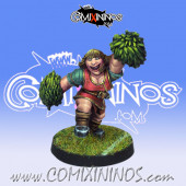 Dwarves - Dwarf Cheerleader - Willy Miniatures