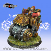 Dwarves - Dwarf Steamroller - Willy Miniatures