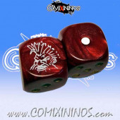 Set of 2d6 Dwarf Dice - Meiko