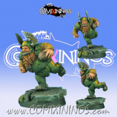 Dwarves - Dwarf Player nº 3 - Scibor Miniatures