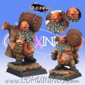 Dwarves - Bloodweiser Dwarf Reveller - Scibor Miniatures