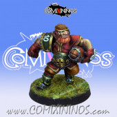 Dwarves - Dwarf Runner nº 2 - Willy Miniatures