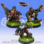 Dwarves - ZZ Block Dwarf Band - Willy Miniatures