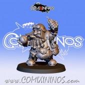 Dwarves -Resin Dwarf Bomber - Fanath Art