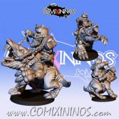 Dwarves - Resin Dwarf Hans The Mole - Fanath Art